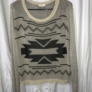 Long sleeve knitted